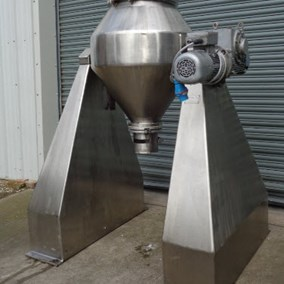 150L S/S Chem-Plant Double Cone Blender