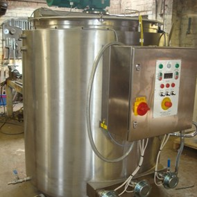 500L Rigal Bennett S/S Electrically Heated Mixer Tank
